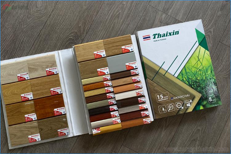 Phụ kiện Len - nẹp sàn gỗ Thaixin