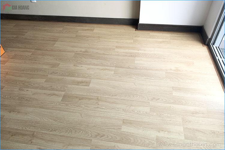 công trình sàn gỗ thaixin cốt xanh vf20659 hcm