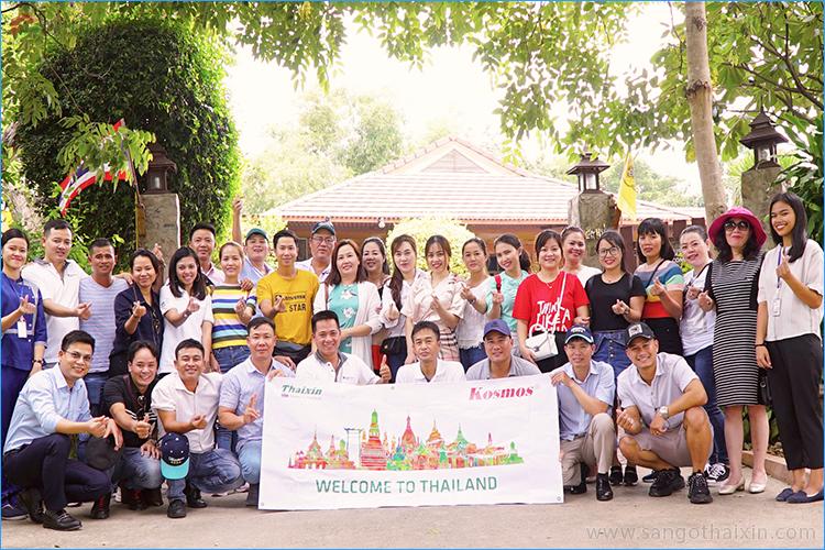 Tham quan nhà máy sàn gỗ Thái Lan cốt xanh