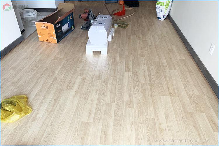 thi công sàn gỗ thaixin cốt xanh vf20659 hcm