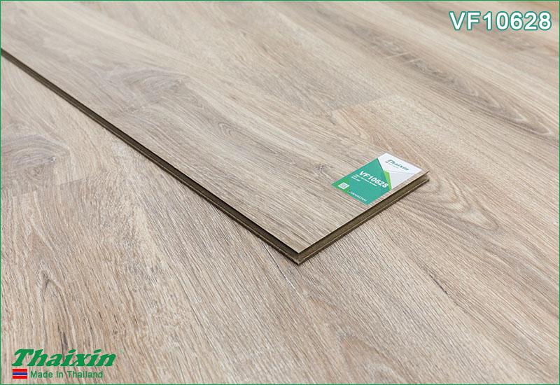 Thực tế sàn gỗ Thaixin cốt xanh VF10628