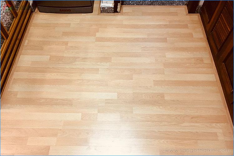 Công trình sàn gỗ Thaixin VF3061