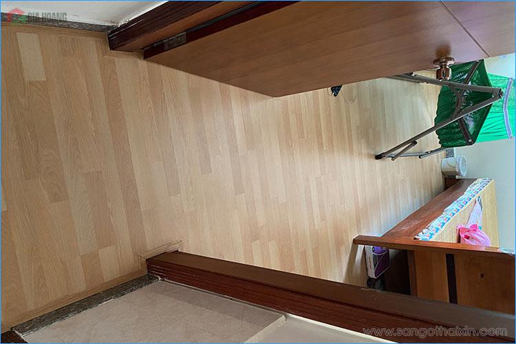 Sàn gỗ Thaixin VF3061 lót phòng ngủ